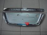 Хромированная накладка на заднюю дверь RLF-T04B LAND CRUISER 100