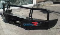 Бампер передний металлический HD07-NS-A050-3B-TLC80 TOYOTA LAND