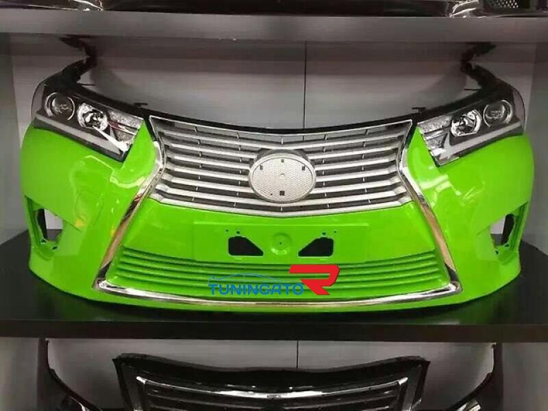 Бампер передний в стиле Lexus на Corolla 2012-16г