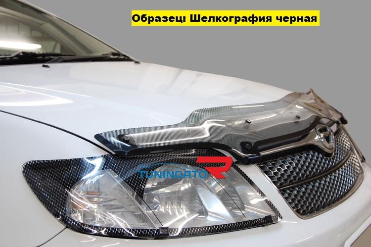 Дефлектор капота с усами для TOYOTA IPSUM M21-M26 (2001-04)