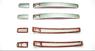 Хром накладки на ручки стальные для LAND CRUISER 200 (07-)
