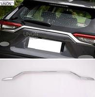Хром накладка на 5ю дверь для Toyota Rav4 2019+