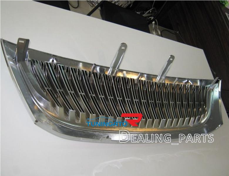 Решотка радиатора тюнинговая с хромом на Fortuner 2005г.-08г.