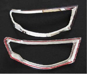 Хромированные накладки на фары для MITSUBISHI TRITON L200 05