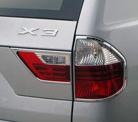Хромированные накладки на стоп-сигналы для BMW X3 04-10г.