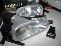 Противотуманные фары в бампер HD010L1 HONDA CR-V
