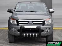 """Передняя защита модель""""ATLAS"""" из стального корпуса для Nissan NP300"""