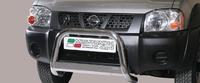 "Кенгурин 63мм ""Medium Bar Mark Inoxс"" логотипом для Nissan NP300"