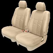Оригинальные кожаные чехлы «Elegant» , три цвета (бежевый, серый, черный) материал искусственная кожа, комплект на все сиденья, для Toyota Aristo JZS160 97-02г.\ Lexus GS300