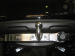 Фаркоп с нерж. пластиной и логотипом Patrol для Nissan Partol 2010 +