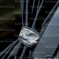 Автомобильные шторы «Premium» черные