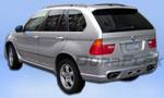 Тюнинговый задний бампер Platinum на BMW X5 E53