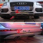 Audi Q5 Накладки на бамперы нержавейка