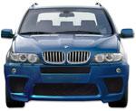 Тюнинговый передний бампер BMW X5 E53