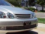 Декаративая решотка, горизонтальные полосы для TOYOTA ARISTO JZS16# (97-00)\ Lexus GS300