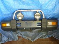 Передний бампер с дугой на Pajero Mini H56A Assy