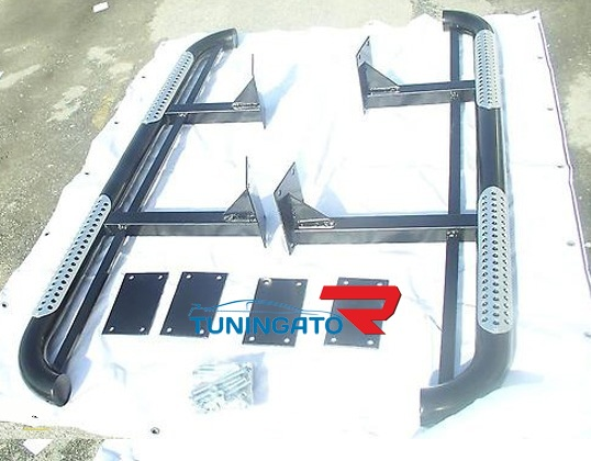Подножки боковые (Усиленные) HD09-FJ80-c0201 LAND CRUISER 80 (90-97)