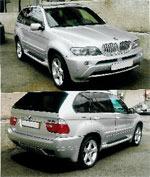 Обвес на BMW X5 E53 комплект