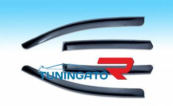 Дефлекторы (ветровеки) боковых окон для Nissan Pathfinder (R51)