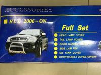 Хромированные накладки кузова Toyota Hilux Vigo 2005-11г.