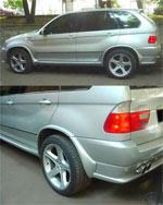 Расширители колесных арок Hartge BMW X5 E53