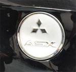 Хромированная накладка на крышку бака  ASX \ RVR 2010