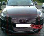 Audi Q7 комплект решеток радиатора на Audi Q7