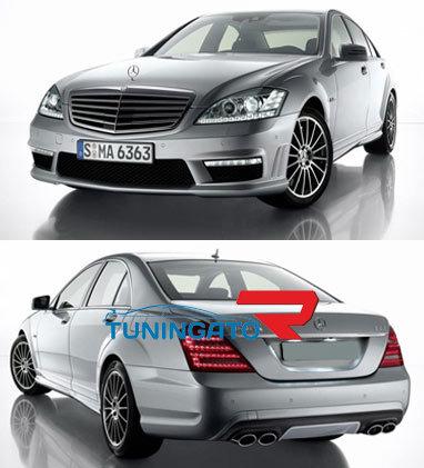 Передний бампер AMG для Mercedes W221