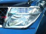 Хромированные накладки на передние фары , США, для Pathfinder 2005- \ Nissan Navara