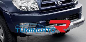 Накладка на передний бампер (тюнинг) 08417-35190 TOYOTA HILUX SURF / 4 RUNNER
