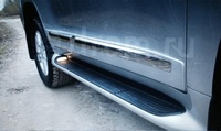 Обвес боковой (пороги ) с подсветкой для LAND CRUISER 200