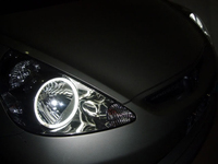 Ангельские глазки CCFL для Honda FIT Jazz 03-08