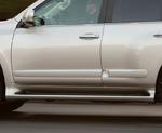 Молдинги на двери широкие для LEXUS GX460