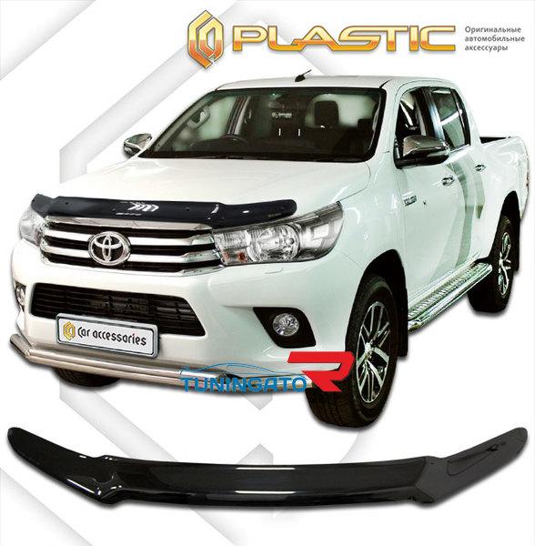 Дефлектор капота на Toyota Hilux\ Vigo 2015+