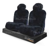 Накидки на сиденья из натурального меха «AUTOTREND Short» черные
