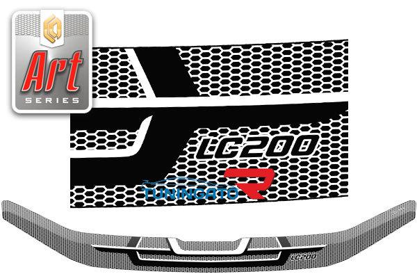 Дефлектор на капот ART-series для Toyota Land Cruiser 200 2016+