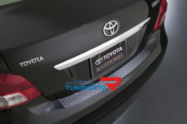 Хромированная накладка на крышку багажника TOYOTA BELTA / YARIS / VIOS (2006-)