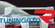 """Спойлер на крышку богажника высокий TRD"""" для Toyota Chaser 96-2001г"""