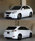 Lexus RX серия - Аэродинамический обвес Prussain Blue