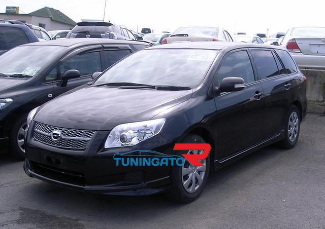 Фары линзовые NEW для Toyota Fielder 2007+