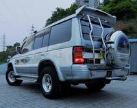 Спойлер на заднию дверь пластиковый на MITSUBISHI PAJERO 91-98 вариант 1