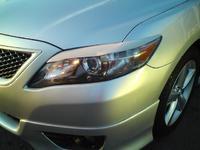 Реснички на фары для Toyota Camry 2009-11