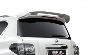 Спойлер на 5ю дверь IMPUL для Nissan Patrol Y62
