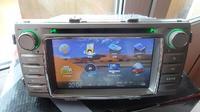 Штатная магнитола с GPS для Toyota Hilux