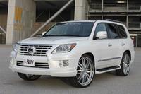 """Аеродинамический обвес """"Double Eight"""" для Lexus LX570 2012г.+"""