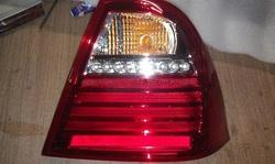 Диодные стоп-сигналы NEW red для Toyota Corolla 2001г.+