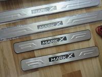 Накладки на пороги с подсветкой Toyota Mark X 2005-2009г