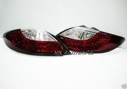 Диодные стоп сигналы красные для Mazda Demio 2007-
