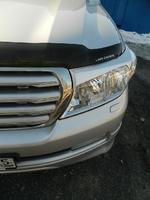 Реснички на фары для Toyota Land Cruiser 200