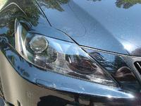Реснички на фары для Lexus IS250 (05-13г)